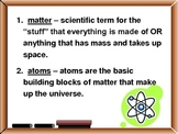 States of Matter & Measurement Notes