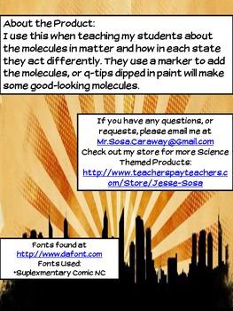 States of Matter Molecules