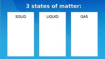States of Matter Notes PP & Worksheet