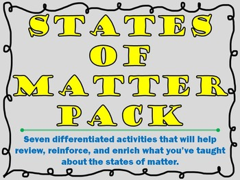 States of Matter Pack