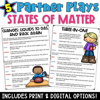States of Matter: Partner Plays