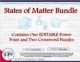 States of Matter Physical Science Bundle, Includes Power P
