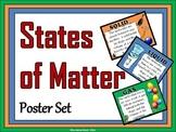 States of Matter Poster Set