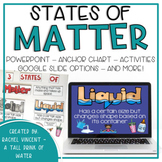 States of Matter Posters, PowerPoint, Activities, Poems
