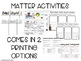 States of Matter Posters, Sort, & Experiment
