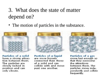 States of Matter PowerPoint Presentation
