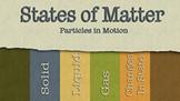 States of Matter (PowerPoint w/ Worksheet)