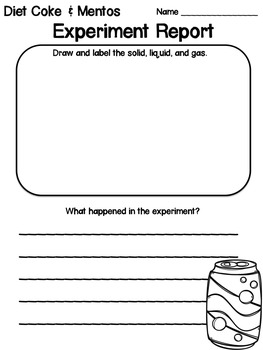 States of Matter: PowerPoint and Worksheets
