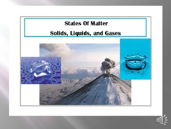 States of Matter Powerpoint for Autism