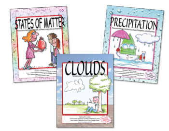 States of Matter, Precipitation, and Clouds BUNDLE