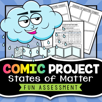 States of Matter Project - Comic Strip