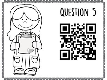 States of Matter QR Code Hunt (Content Review or Notebook Quiz)