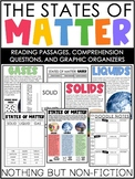 States of Matter Reading Passages