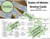 States of Matter Review Cards