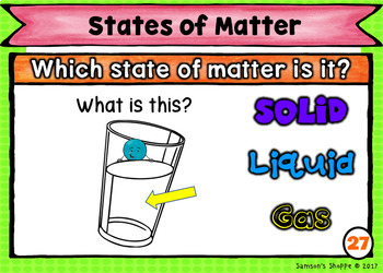 States of Matter Review Task Cards Printable, Boom and for Google Forms