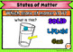 States of Matter Review Printable Google Classroom and BOOM Task Cards
