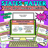 States of Matter Review Printable Google Classroom and BOO