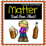 States of Matter Root Beer Float Experiment