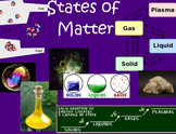 """States of Matter"" SMART Notebook"