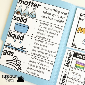States of Matter Science Activities Folder