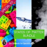 States of Matter Science Bundle for Special Education
