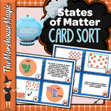 States of Matter Science Card Sort, Vocabulary Activity, Word Wall