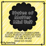 States of Matter Science Mini Unit
