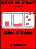 States of Matter Science and Literacy Lesson Set (STAAR &
