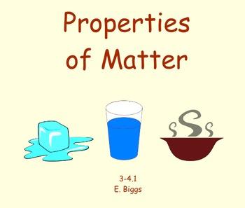 States of Matter - Smartboard Lesson