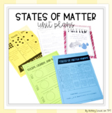 States of Matter (Solid, Liquid, Gas) Interactive Unit