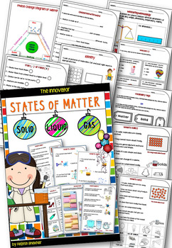 States of Matter – Solid, Liquid and Gas