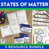 States of Matter BUNDLE | Activities for Solids, Liquids, and Gases