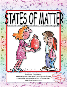 States of Matter - Solids, Liquids, Gases, Condensation, Evaporation