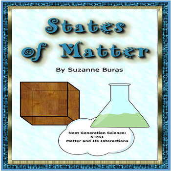 States of Matter: Solids, Liquids, Gases Foldable