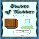 States of Matter Foldable: NGS-5.PS1 Matter and Its Interactions