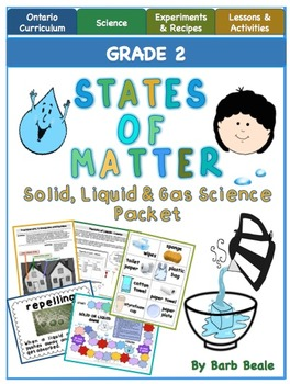 States of Matter - Solids, Liquids and Gases - 115 pages