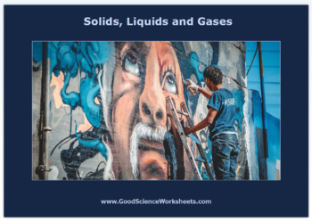 States of Matter: Solids, Liquids and Gases [Cloze Worksheet – Interactive]