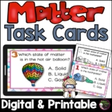 States of Matter-Solids, Liquids or Gas (24 Task cards)