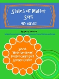 States of Matter Sort- 40 Cards, Scoot and More!