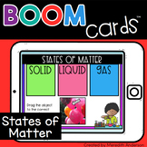 States of Matter Sorting Distance Learning Boom Cards