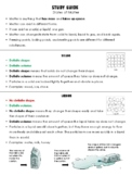 Study Guide - States of Matter