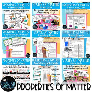 States of matter matching teaching resources teachers pay teachers states of matter growing super bundle states of matter growing super bundle fandeluxe Images