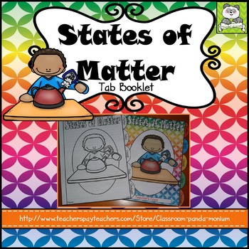 States of Matter Tab Booklet
