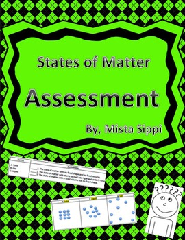 States of Matter Test Assessment