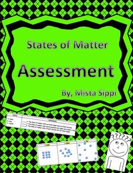 States of Matter Test Assessment