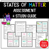 States of Matter Test and Study Guide