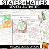 States of Matter Thanksgiving Review Activity