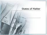 States of Matter Third Grade Lesson