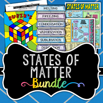 States of Matter Bundle *** Save Over 35% ***