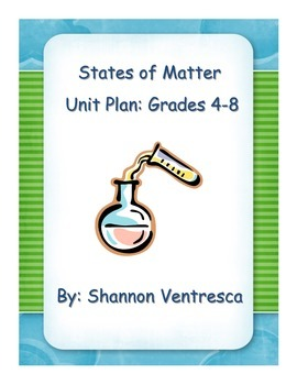 States of Matter Unit  Materials (PDF)